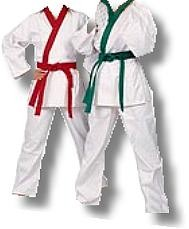 Martial Arts Uniforms Taekwondo Gup Trimmed