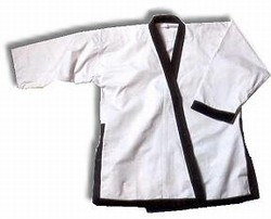 Martial Arts Uniforms Taekwondo Wacoku Trimmed
