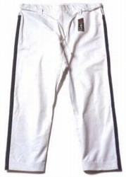 Martial Arts Uniforms Taekwondo Wacoku Trim Pants