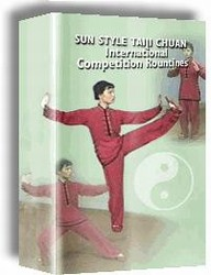 Martial Arts DVD Videos Sun Style Taiji Chuan