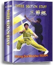 Martial Arts DVD Videos Three Section Staff