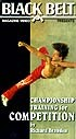 Martial Arts DVD Videos Championship Training