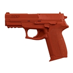 Weapons ITEM: WEA-0212-A1<br>Guns RUBBER PRACTICE SIG P2022<br> Orange - Class Sak-02