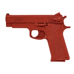 Weapons ITEM: WEA-0213-A1<br> Guns RUBBER PRACTICE S&W<br> Orange - Class Sak-02