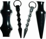Martial Arts Weapons Kubotan Keychain Spiral