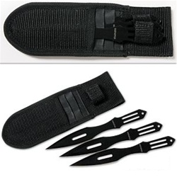 Martial Arts Weapons Throwing Knife Set 3 Piece