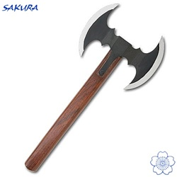 Martial Arts Weapons Double Throwing Hatchet Axe