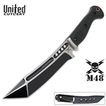 Martial Arts Weapons Tactical M48 Sabotage Fighting Knife With Sheath Tanto
