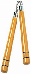 Martial Arts Weapons Nunchaku Gold Bruce Lee