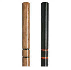 Martial Arts Weapons Sticks Escrima Hardwood Black
