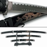 Martial Arts Weapons Sword Samurai Set With Stand