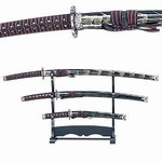 Martial Arts Weapons Sword Samurai 3 Piece Set