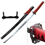 Martial Arts Weapons Sword Samurai Sakura 2 piece set includes stand