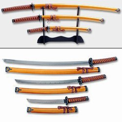 Martial Arts Weapons Sword Last Samurai Set