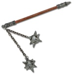 Martial Arts Weapons Medieval Double Ball Mace