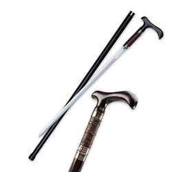 Martial Arts Weapons Sword Cane Carbon Steel Blade Concealed Rurousha