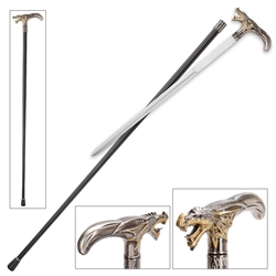 Martial Arts Weapons Dragon Sword Cane Concealed