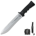 Martial Arts Weapons Survival SOA Knife With Sheath