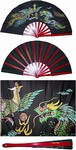 Martial Arts Weapons Tessen Fighting Fan Metal