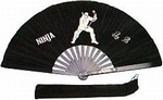 Martial Arts Weapons Tessen Fighting Fan Ninja