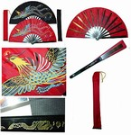 Martial Arts Weapons Tessen Fighting Fan Phoenix