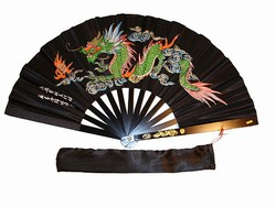 Martial Arts Weapons Tessen Fighting Fan Aluminum