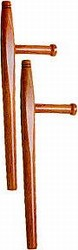 Martial Arts Weapons Tonfa Hardwood