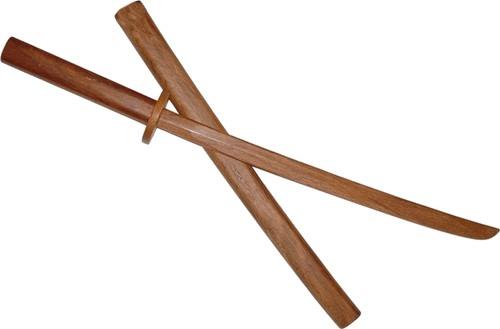 Martial Arts Weapons Sword Bokken With Scabbard