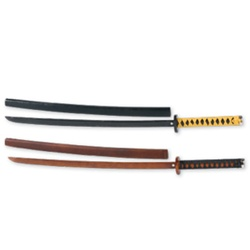 Martial Arts Weapons Bokken Wrap Handle Scabbard