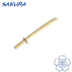 Martial Arts Weapons Bokken Sword Shoto White Oak