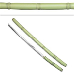Martial Arts Weapons Sword Katana Bamboo Stick