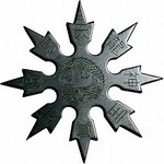 Martial Arts Weapons Shuriken Star Superior Dragon