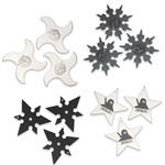 Martial Arts Weapons Shuriken 12 Star Ninja Master