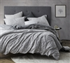 Cracked Earth Gray Twin Extra Long Stylish Bedding Oversized Twin XL Duvet Cover