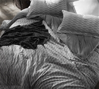 Mattina Gray King XL sized Comforter available - Oversized King XL bedding down comforter