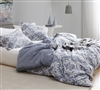 Steel Blue Oversized King XL Duvet Cover Sa Rembo Stylish King Sized Bedding Decor