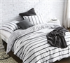 Buy duvet cover in black for Queen oversized bedding - cozy soft duvet cover XL Queen available