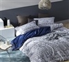Neiva extra long King Duvet Cover set - soft duvet cover sized King XL in blue