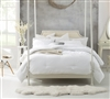 White soft bedding comforter sets Twin extra wide - comfortable comforters Twin oversized