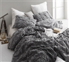 Dark Gray XL King size Comforter sets for Oversized King bedding XL