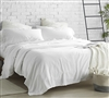 300TC Violeta Folho Portugal Twin XL Sheet Set - Stone Washed Sateen