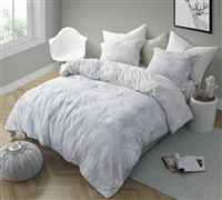 Stylish Designer King XL Comforter Flourish Nature Inspired Ultra Soft Microfiber King Oversize Bedding