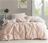 Just Peachy - Oversized King Duvet Cover - 100% Cotton Bedding