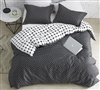 Route - Black and White - Oversized King Duvet Cover - 100% Cotton Bedding