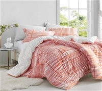 Best Oversized Comforter for Queen Bed Soft Cotton Restyle Orange One of a Kind Orange and White Designer Queen Bedding