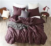 Malbec - Oversized Queen Comforter - 100% Cotton Bedding
