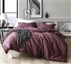 Malbec - Oversized Queen Duvet Cover - 100% Cotton Bedding