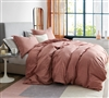 Oversized King Bedding Essentials Designer Roost Super Soft Microfiber King XL Duvet Cover with Unique Design