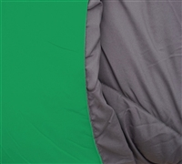 Softest Comforter Queen Size - Kelly Green and Gray - Best Comforter Sets