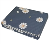 Blue sheet sets sized Twin XL - Add oversized Twin sheet sets to Twin bedding oversize with flowers